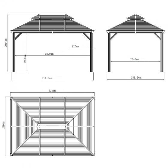 Pavillon Mykonos 10x14 | #6