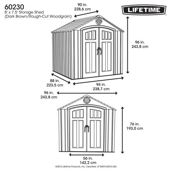 Lifetime Gerätehaus Zeus | #6