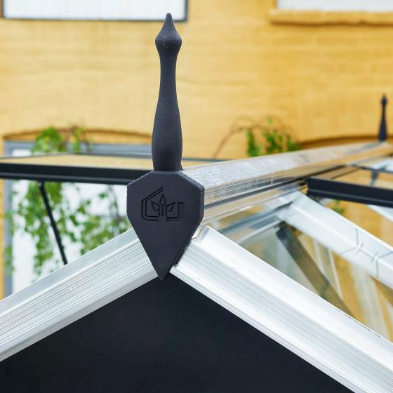 Gewächshaus Premium 8,8 m², silber | #6