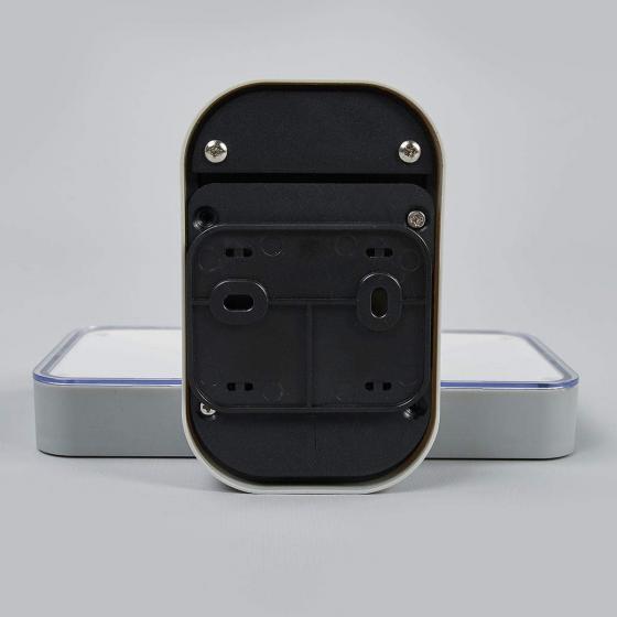 Solar-Außenwandlampe Maik mit Bewegungsmelder, 12x18x12,7 cm, Kunststoff, grau | #6