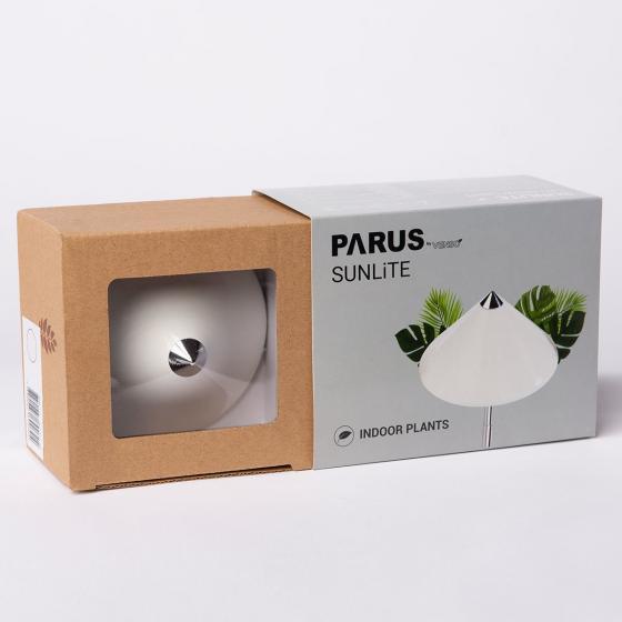 Sunlite Pflanzenlampe, 7 W, 28-100 cm, Ø 11, Kabel 4 m,Aluminium, weiß | #6