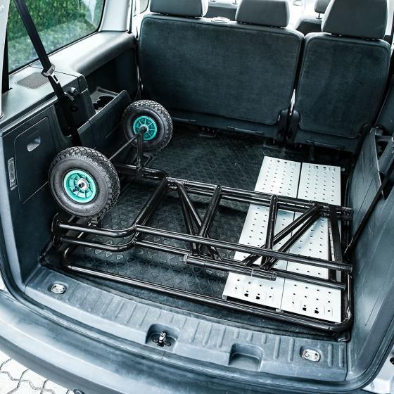 Mobiles Gerüst mit luftgefüllten Reifen, Tragkraft ca. 150 kg | #6