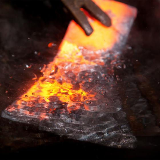 Holzspalthammer 3,2 kg, Lederstiel- und Lederschneidenschutz und USA-Hickorystiel | #6