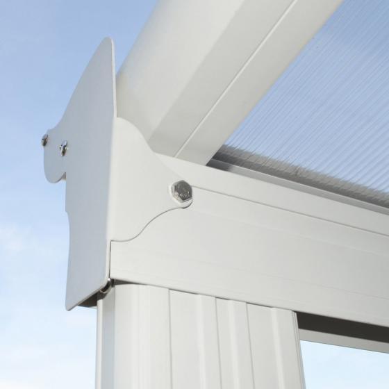 Terrassenüberdachung B 312 x T 303 cm weiß | #6