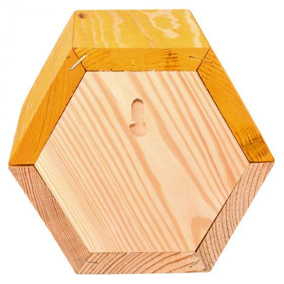 Bienenhaus, sechseckig, gelb   #6