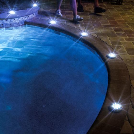 Disk Light Stone Gartenbeleuchtung, Solar, 4er Set | #6