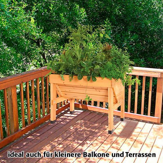 VegTrug Hochbeet natur, 75x70x80 cm, inkl. Pflanzvlies | #6