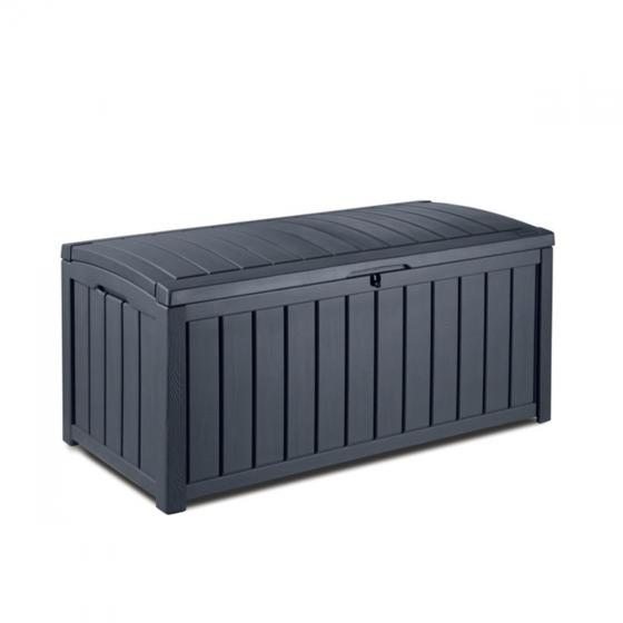 Auflagenbox Glenwood zum Sitzen in Holzoptik | #7