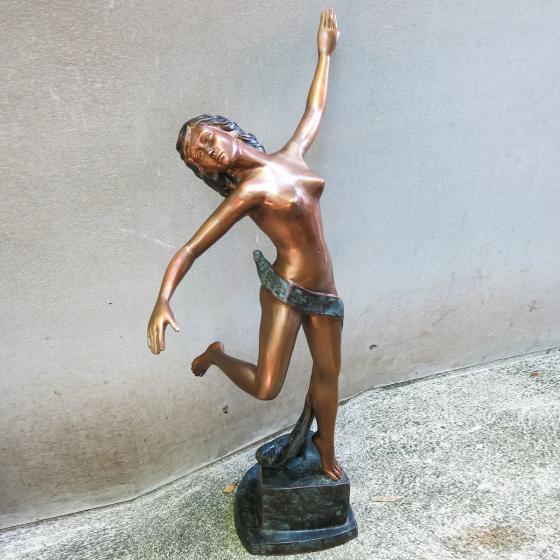 Bronzefigur Primadonna | #7
