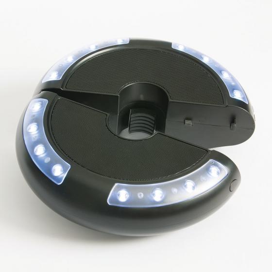 Schirm-Beleuchtung Luna mit Lautsprecher | #7