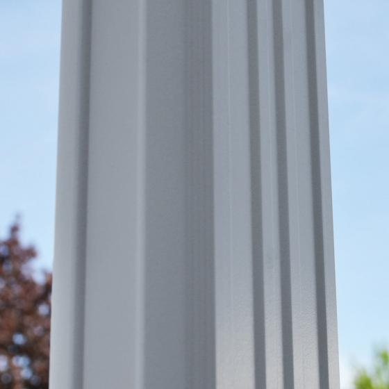 Terrassenüberdachung B 312 x T 303 cm weiß | #7