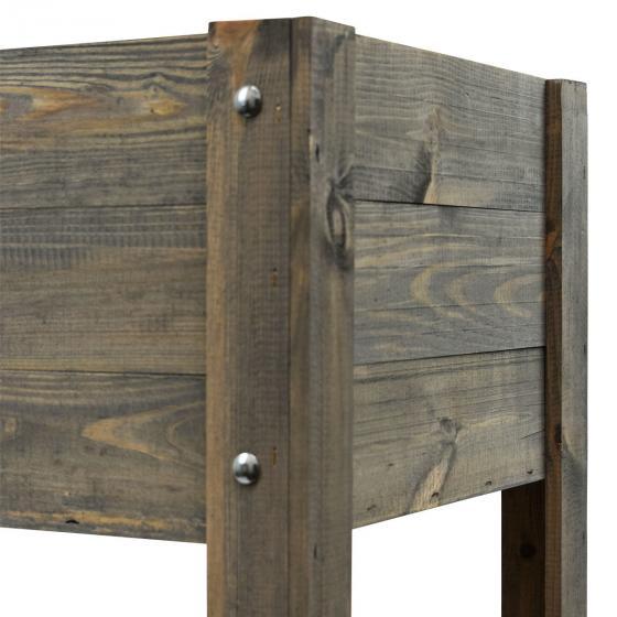 Balkonhochbeet Easy-Exklusiv, Dunkelgrau, 80x40x78cm | #7
