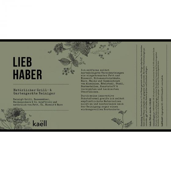 Natürliches Grill- und Gartengerätereiniger-Konzentrat Liebhaber, 750 ml | #7