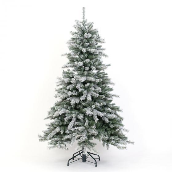 Künstlicher Weihnachtsbaum Fichte. Schneeoptik, mit LED-Beleuchtung, 180 cm | #7