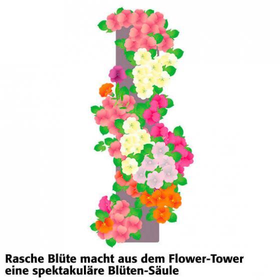 Flower Tower stehend | #7