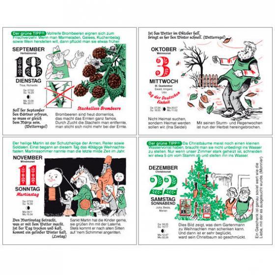Gärtner Pötschkes Tages-Garten-Kalender Der Grüne Wink® | #7