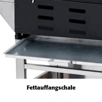 Gasgrill Keansburg, 4-Brenner, Seitenkocher, Horizontalbrenner | #8