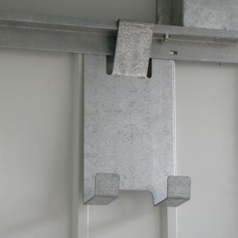 Regalset für Metallgerätehaus Palladium | #8