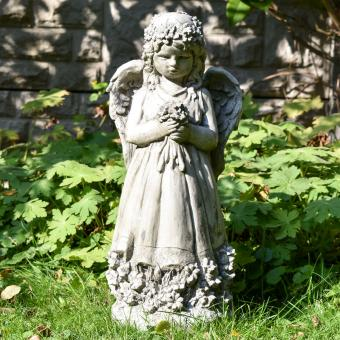 Gartenfigur Blumenengel Fiona | #8