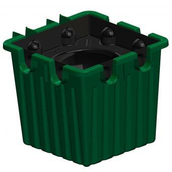 Oasebox, 3er-Set grün | #8