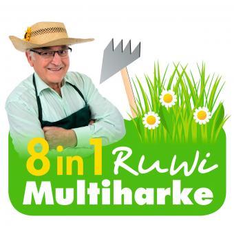 Multi-Harke 8 in 1 Edelstahl | #8
