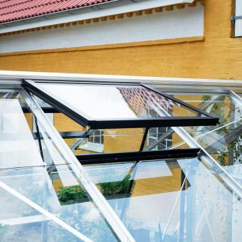 Gewächshaus Premium 10,9 m² anthrazit | #8