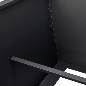 Hochbeet Valenta, Aluminium, antrhazit, ca. 200 cm | #8