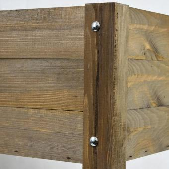 Balkonhochbeet Easy, dunkelbraun, 80x40x78 cm | #8