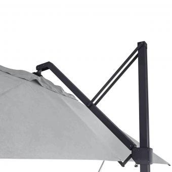 Sonnenschirm Stratos 3x4m, grau | #8