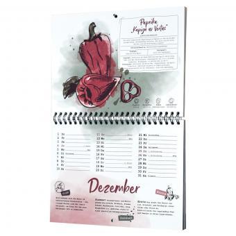Einpflanzbarer Kalender - Historisches Saatgut | #8