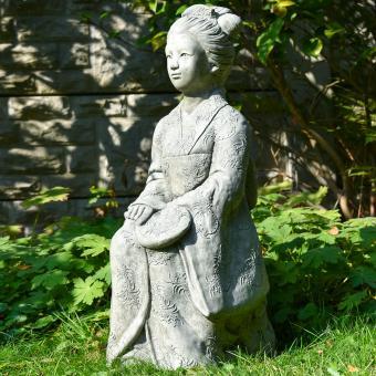 Garten-Steinfigur Geisha | #8
