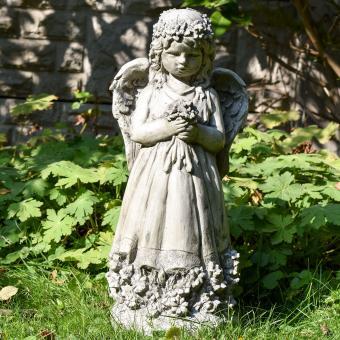 Gartenfigur Blumenengel Fiona | #9