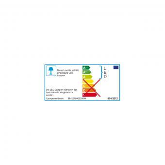 Solar-LED-Sockelleuchte Kalypso mit Bewegungsmelder, 30x7,6x7,6 cm, Edelstahl, silber | #9