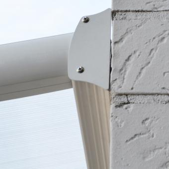 Terrassenüberdachung B 312 x T 303 cm weiß | #9