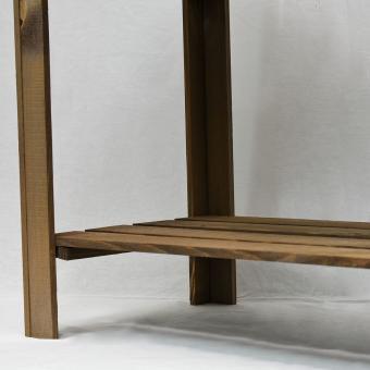 Balkonhochbeet Easy, dunkelbraun, 80x40x78 cm | #9