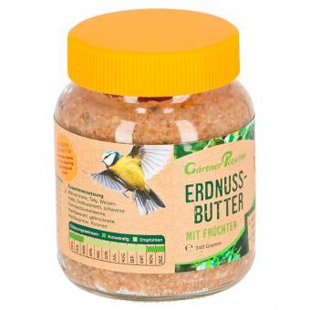 Erdnussbutter mit Früchten für Wildvögel, im Glas, 340 g | #9