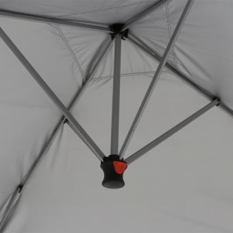 Faltpavillon EasyUp, 300x300 cm, anthrazit | #9