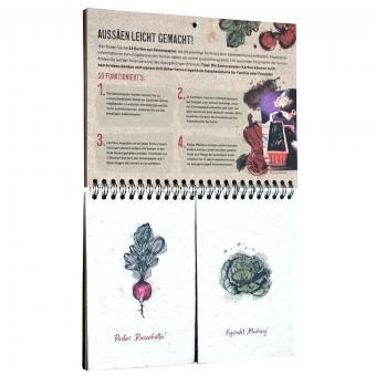 Einpflanzbarer Kalender - Historisches Saatgut | #9