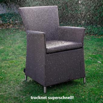 Outdoor Sessel Daisy ohne Armlehnen beige | #9