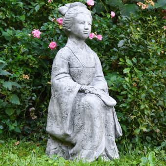 Garten-Steinfigur Geisha | #9