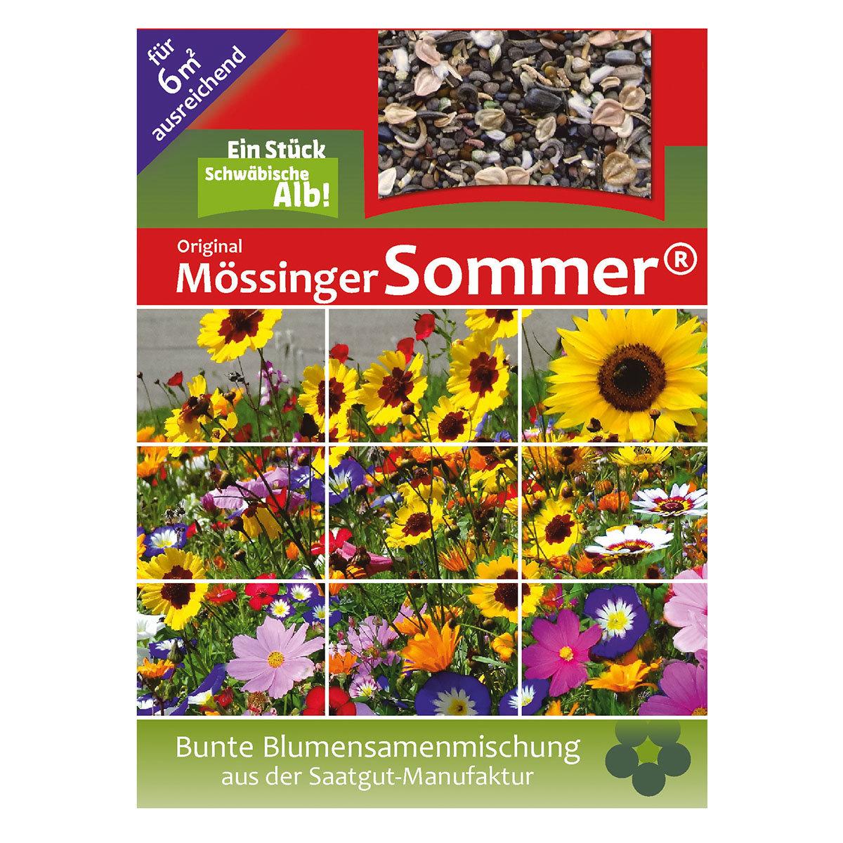 Blumensamen-Mischung Original Mössinger Sommer für 6 qm