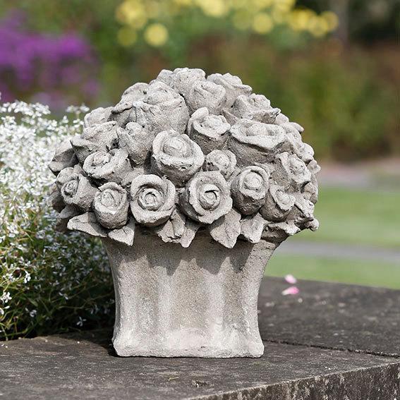 steinguss deko rosen bouquet von g rtner p tschke. Black Bedroom Furniture Sets. Home Design Ideas