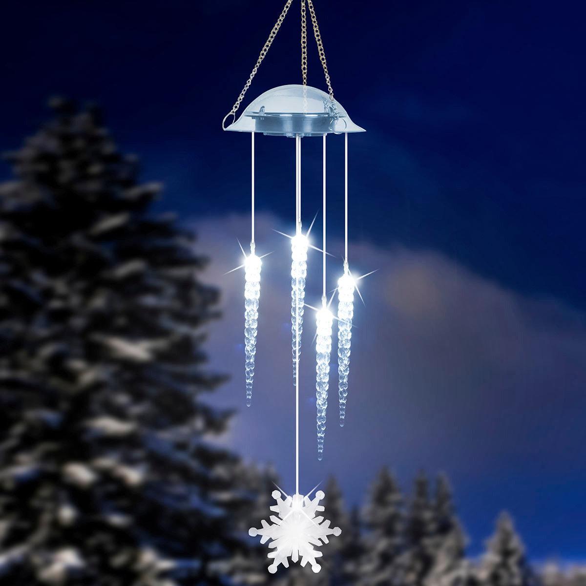 solar led windspiel eiszauber von g rtner p tschke. Black Bedroom Furniture Sets. Home Design Ideas