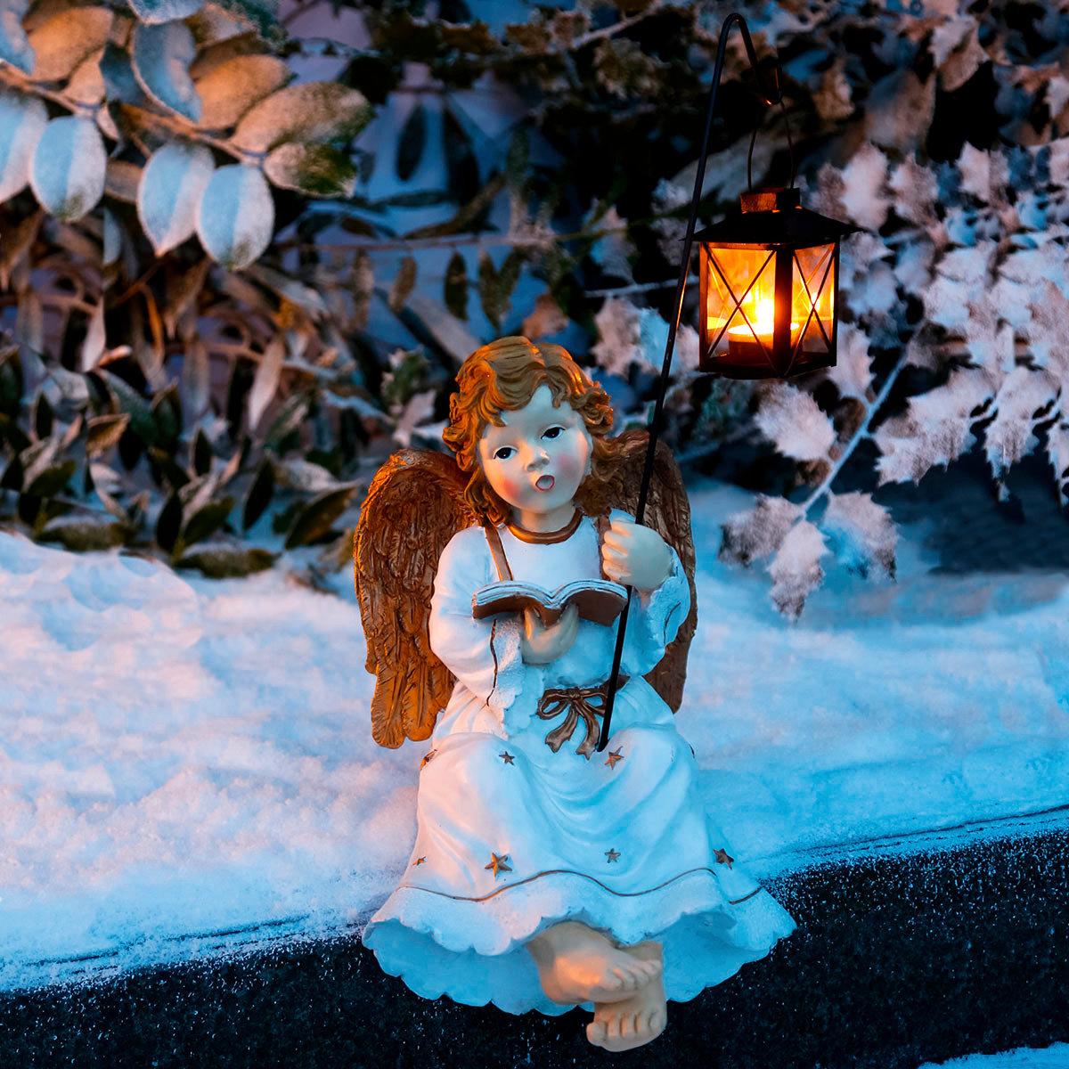 Kantenhocker engel amalia von g rtner p tschke for Gartendeko neuheiten