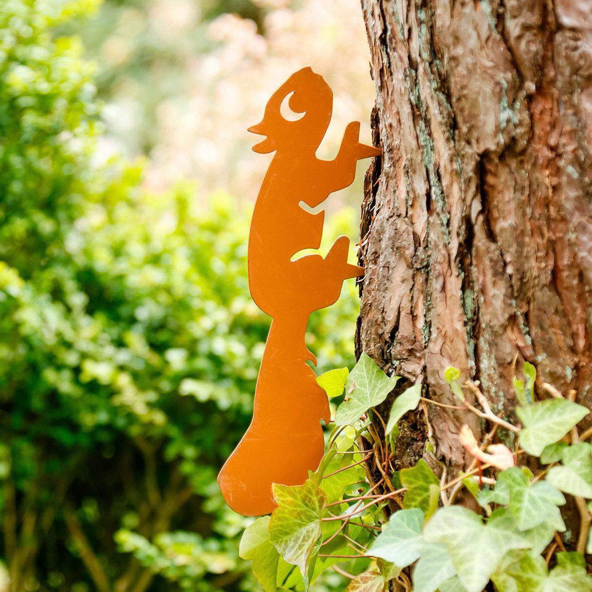 Baumstecker Eichhörnchen