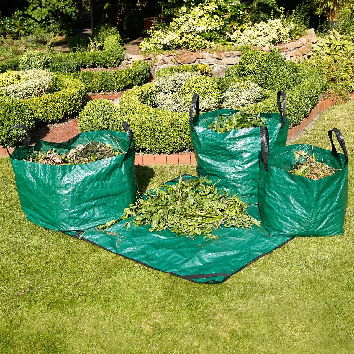 Gartenabfallsäcke, 4er Set