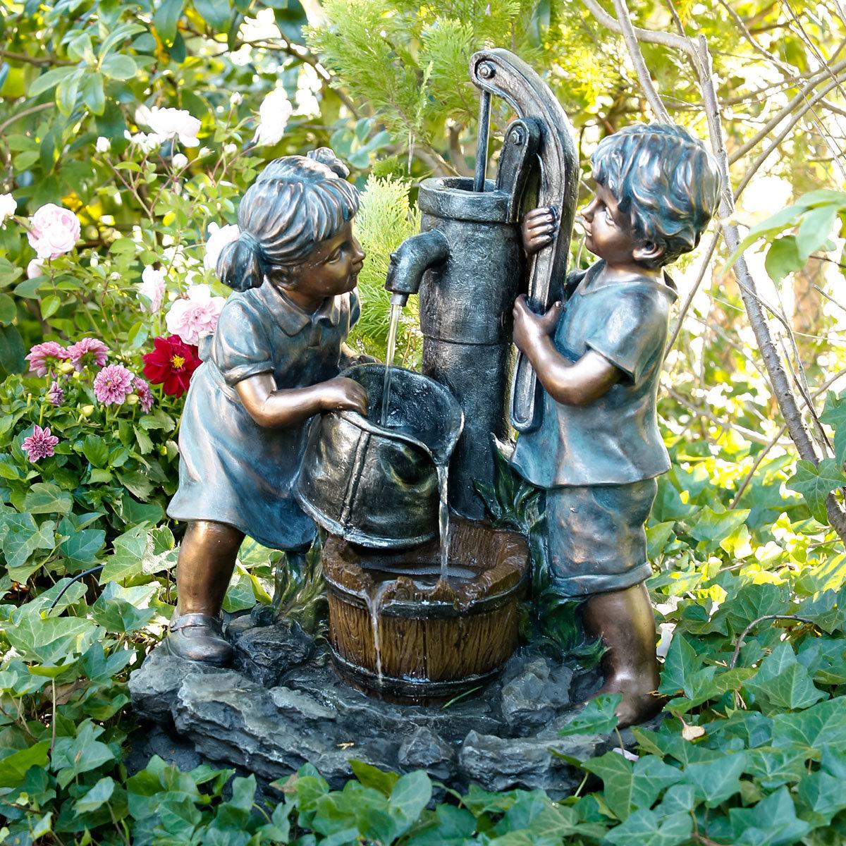 Brunnen Schorsch & Lenchen