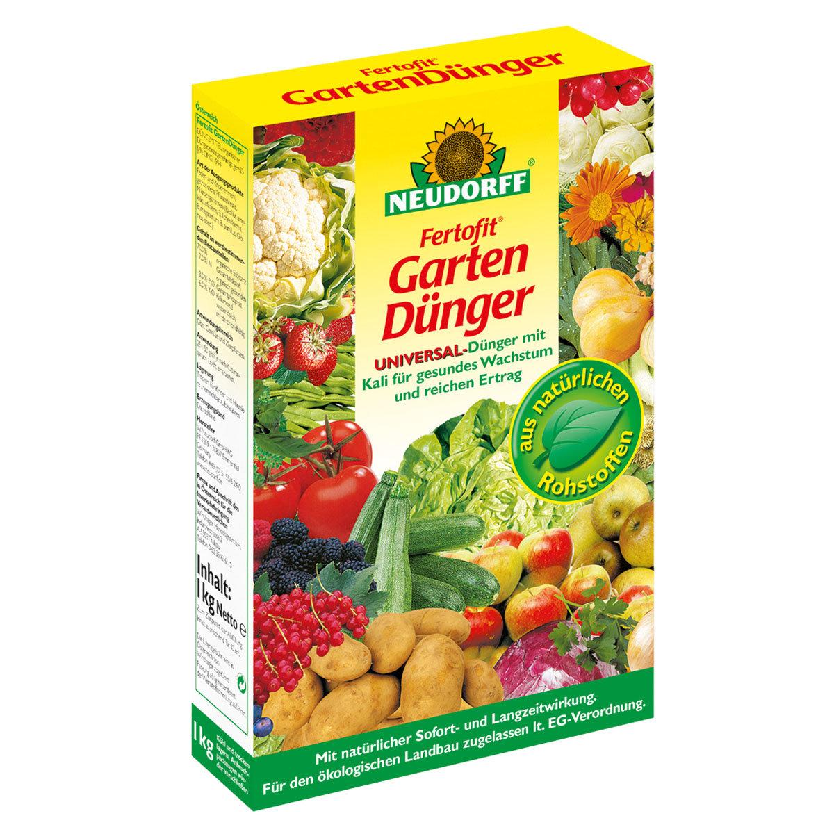 Neudorff Fertofit GartenDünger, 2,5 kg