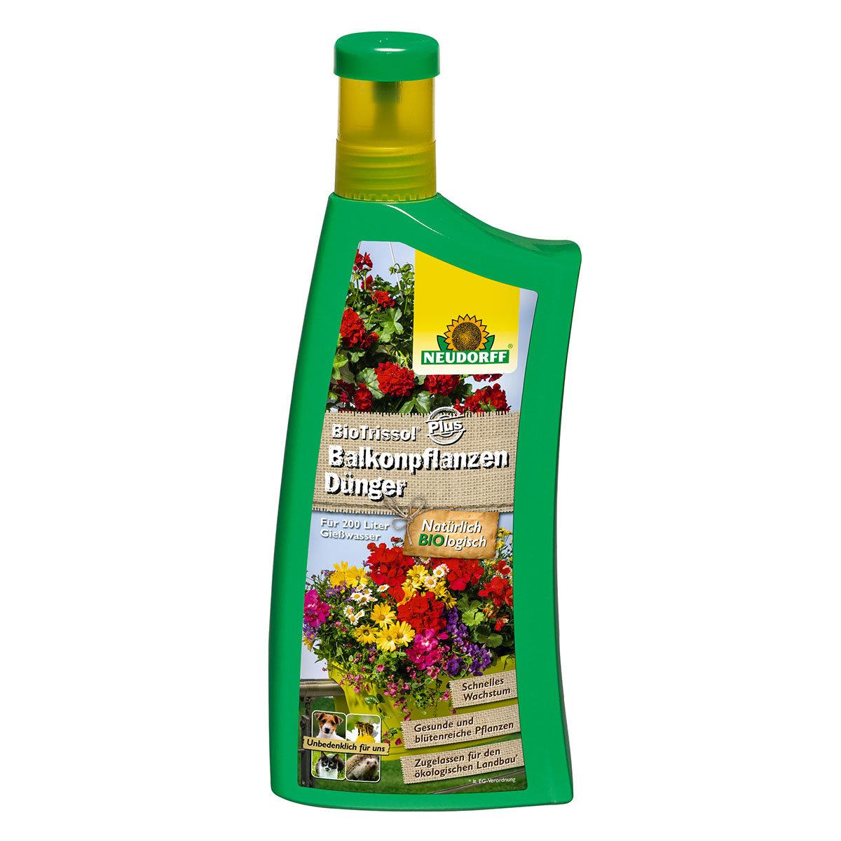 Balkonpflanzen-Dünger, 1 Liter