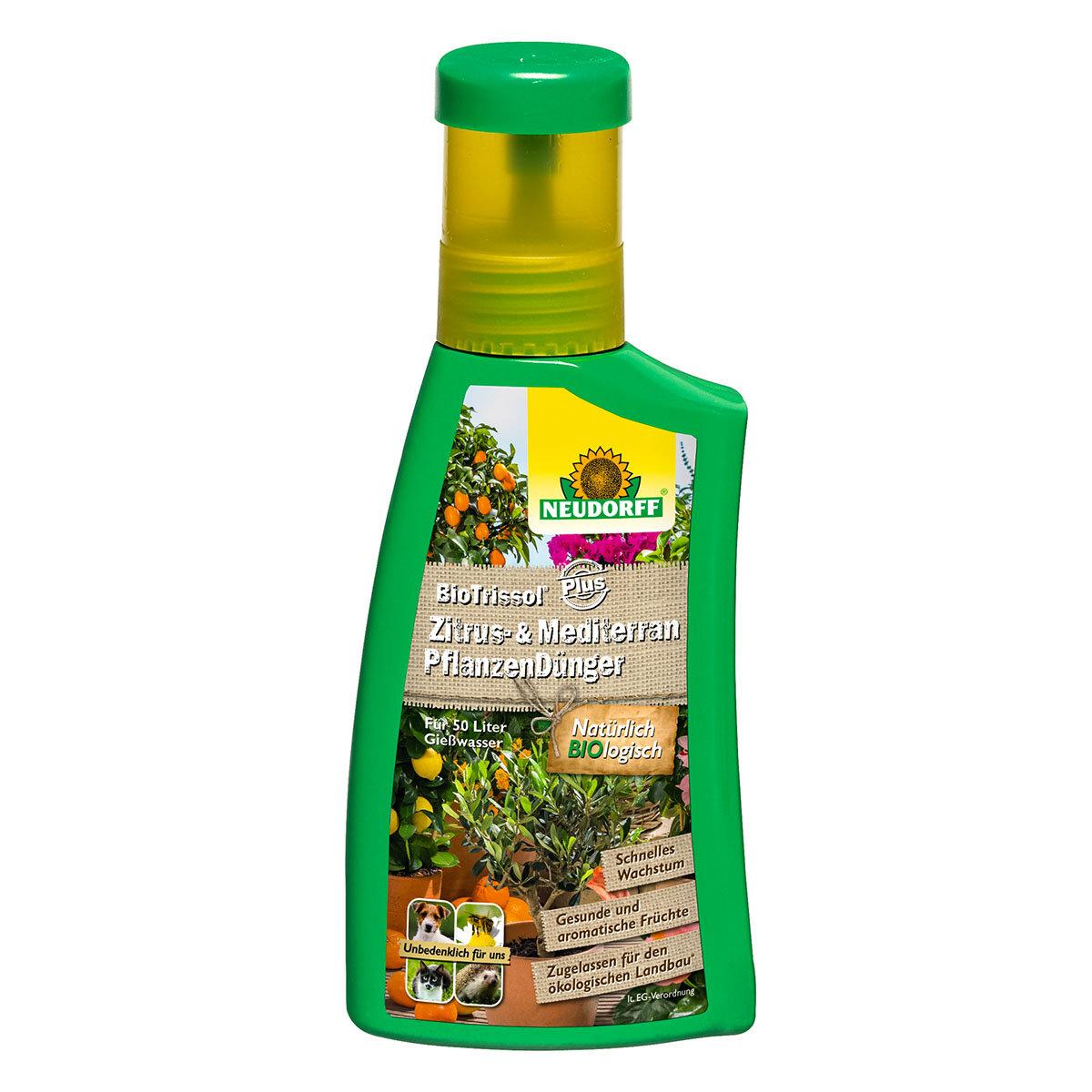 Neudorff BioTrissol Plus Zitrus- und MediterranpflanzenDünger, 250 ml